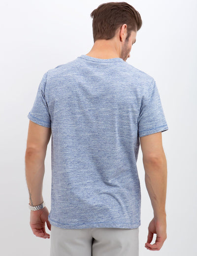 LINEAR SPACE DYED TEE