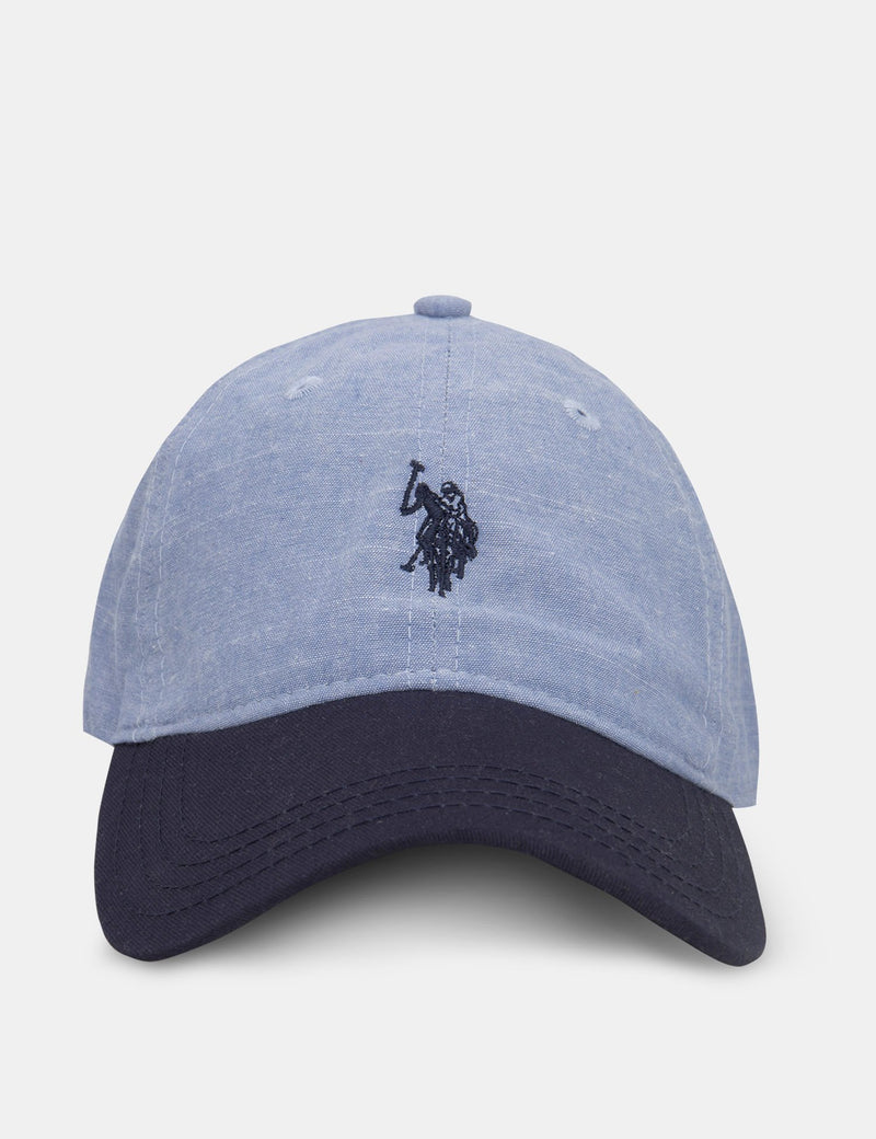 BOYS CHAMBRAY CAP