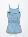 TODDLER SMOCKED WAIST ROMPER