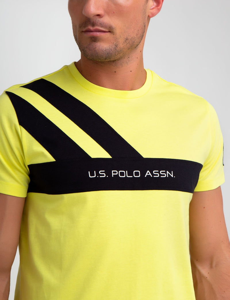 CHEST STRIPE TEE