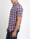 CLASSIC FIT MEDIUM PLAID SHIRT IN POPLIN - U.S. Polo Assn.