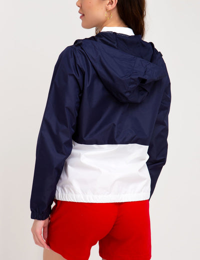 COLORBLOCK HOODED WINDBREAKER - U.S. Polo Assn.
