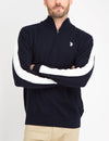 STRETCH 1/4 ZIP SWEATER - U.S. Polo Assn.