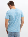 LINEAR SPACE DYED T-SHIRT - U.S. Polo Assn.