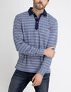 STRIPE COLLARED SHIRT WITH ROLL UP SLEEVES - U.S. Polo Assn.