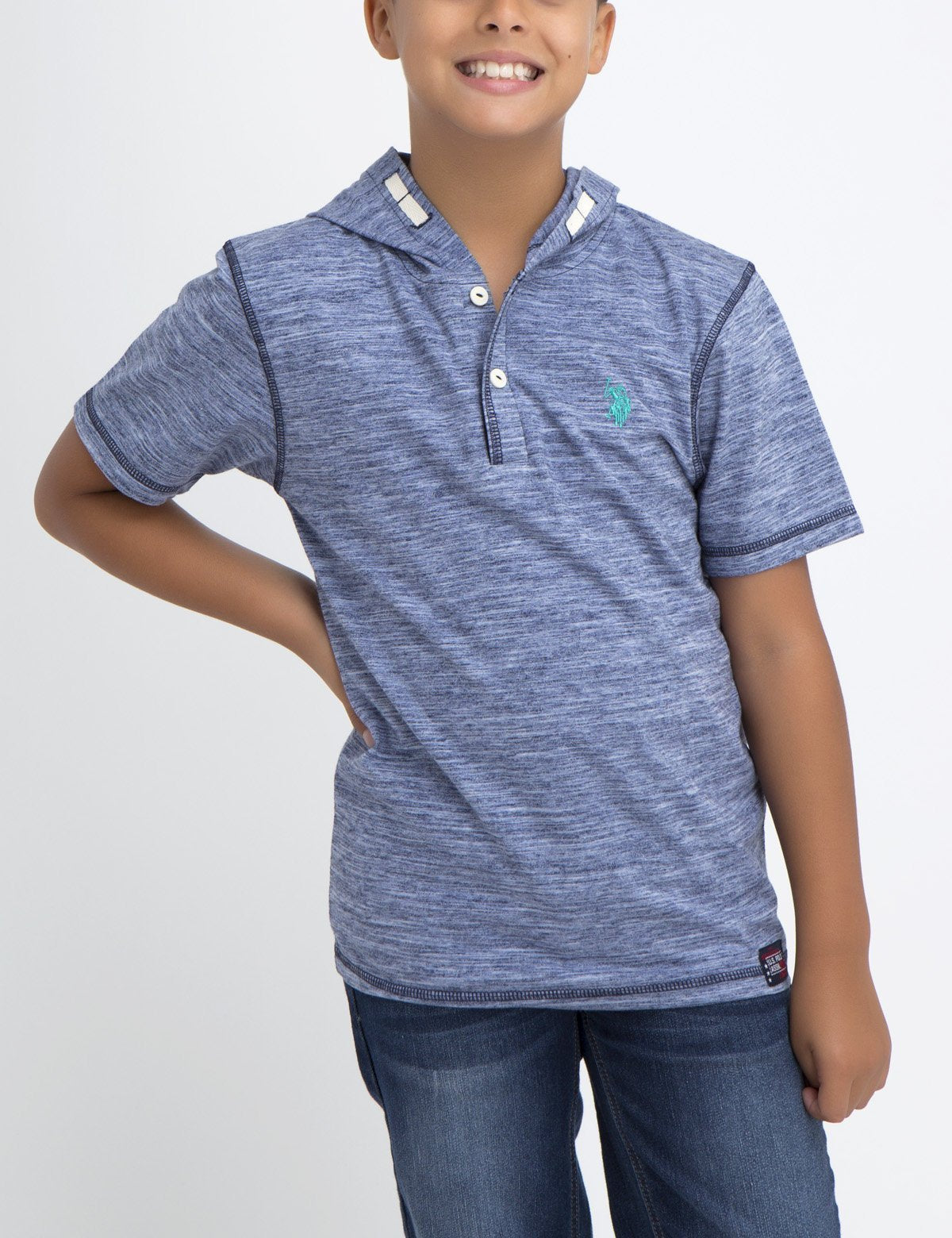 BOYS POPOVER COTTON JERSEY