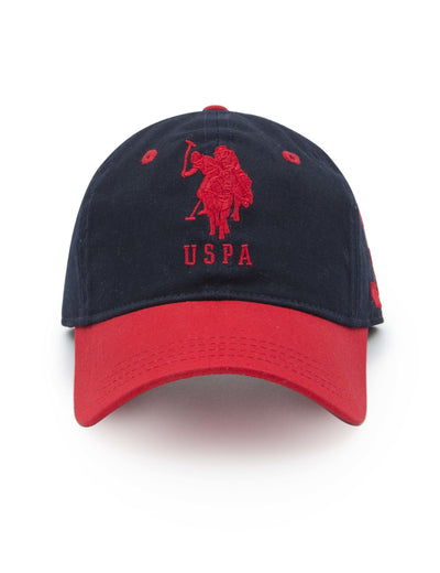 BOYS 3 PATCH ADJUSTABLE CAP - U.S. Polo Assn.