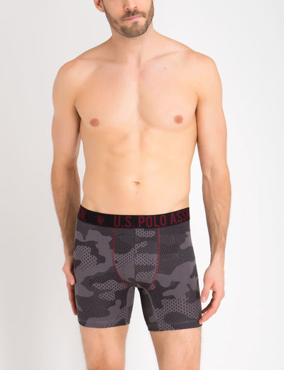 3 Pack Stretch Cotton Boxer Brief - U.S. Polo Assn.