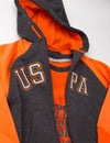 BOYS 3 PIECE SET - HOODIE, TEE & JOGGERS - U.S. Polo Assn.