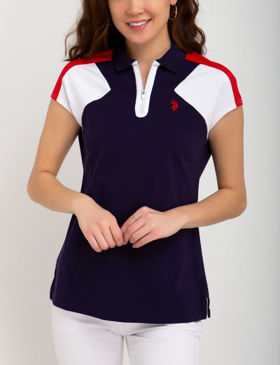 COLORBLOCK SPORT POLO SHIRT