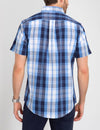 Stretch Large Plaid Poplin Shirt - U.S. Polo Assn.