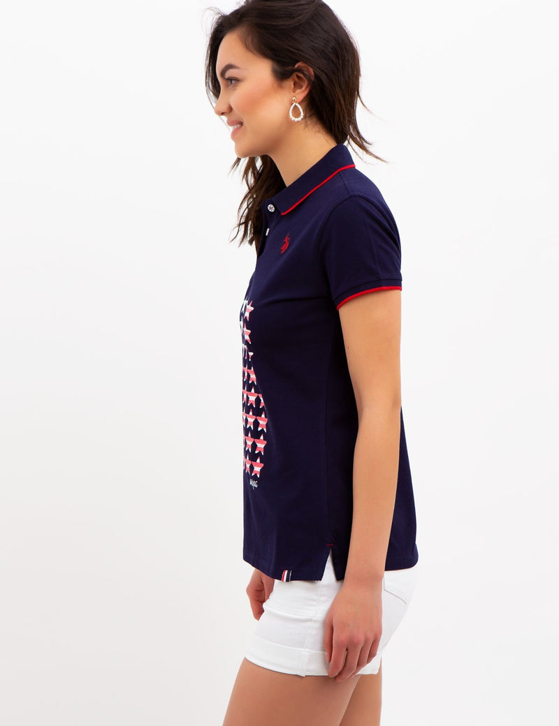 STAR FLAG POLO SHIRT - U.S. Polo Assn.
