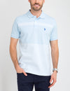 COLORBLOCK STRIPED PIQUE POLO SHIRT - U.S. Polo Assn.