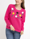 FLORAL EMBROIDERED SWEATER - U.S. Polo Assn.