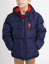 BOYS REVERSIBLE PUFFER JACKET