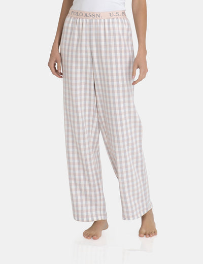 STRAIGHT LEG PLAID PANT - U.S. Polo Assn.