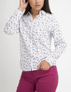 FLORAL STRIPED POPLIN SHIRT - U.S. Polo Assn.
