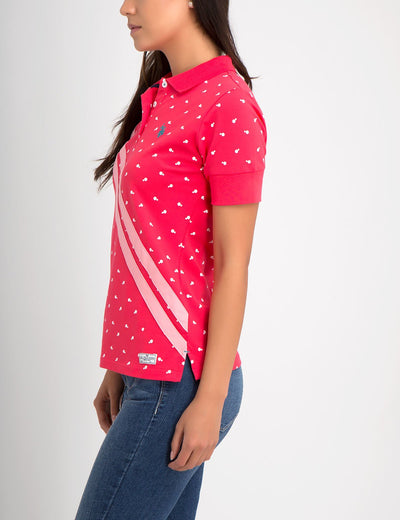 PREMIUM DOT SLASH POLO SHIRT - U.S. Polo Assn.