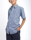 BOYS GEOMETRIC PRINTED SHIRT - U.S. Polo Assn.