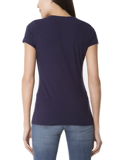 LACE NECKLINE T-SHIRT - U.S. Polo Assn.
