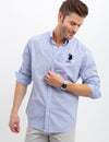 GINGHAM PRINT SHIRT - U.S. Polo Assn.