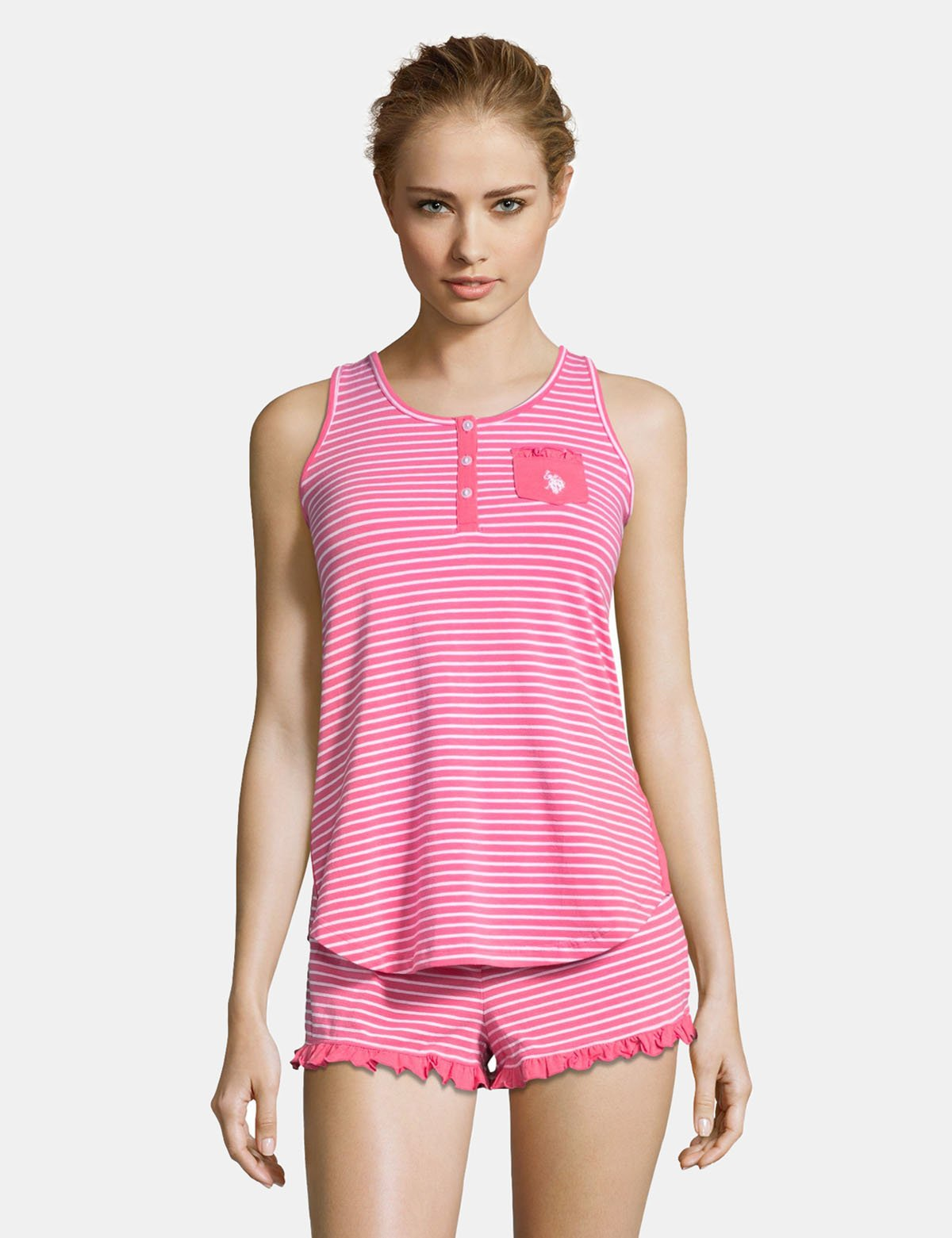 STRIPED TANK & SHORTS SET - U.S. Polo Assn.