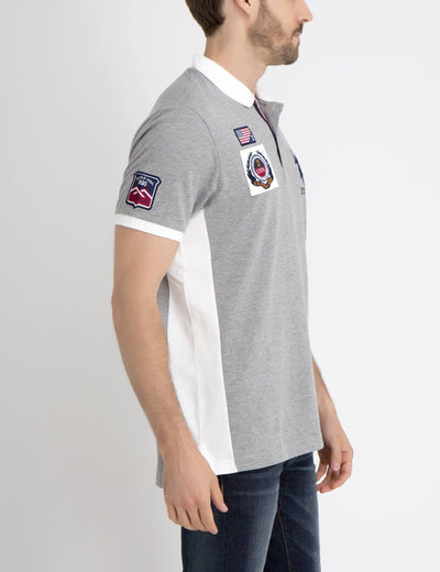 FLAG PATCH POLO SHIRT - U.S. Polo Assn.