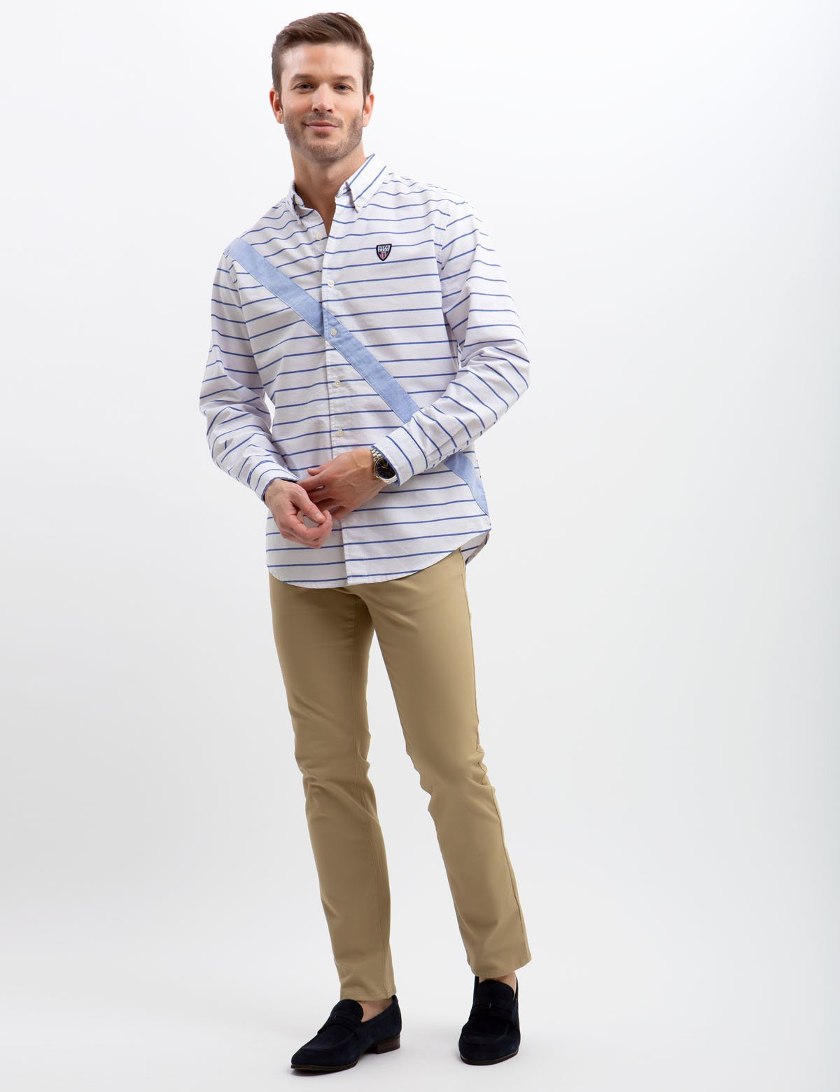 STRETCH SLIM OXFORD SHIRT - U.S. Polo Assn.