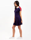 PATCH TENNIS DRESS