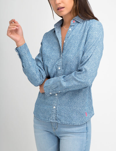 DAISY LIGHTWEIGHT CHAMBRAY SHIRT