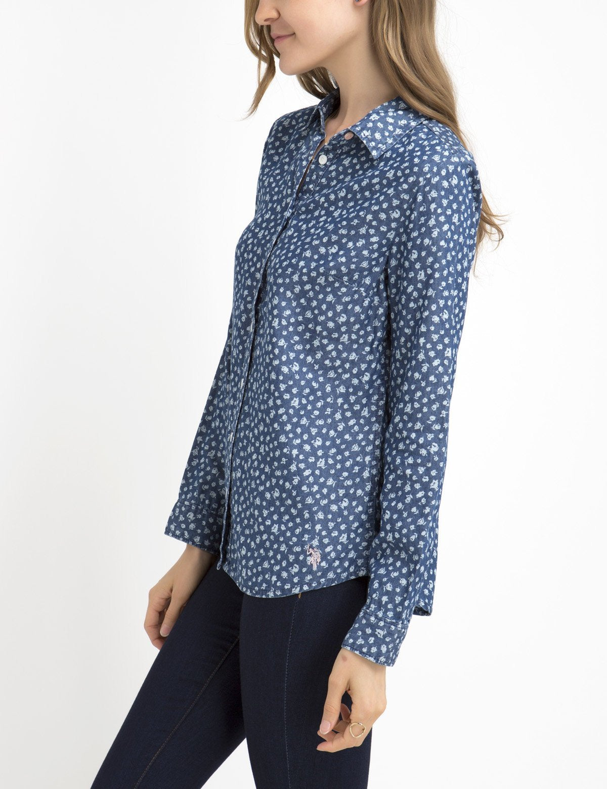 BOTANICAL LIGHTWEIGHT CHAMBRAY SHIRT - U.S. Polo Assn.