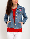 VARSITY DENIM JACKET - U.S. Polo Assn.