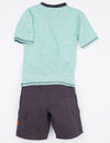 Boys 2 Piece Set - Tee & Shorts - U.S. Polo Assn.