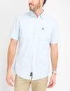 Slub Canvas Short Sleeve Shirt - U.S. Polo Assn.