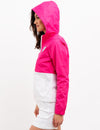 COLORBLOCK HOODED WINDBREAKER