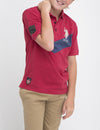 BOYS CHEVRON POLO SHIRT - U.S. Polo Assn.