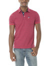SLIM FIT JERSEY STRIPED POLO SHIRT