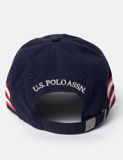 SIDE STRIPE BASEBALL CAP