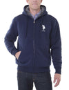 Sherpa Lined FLEECE FULL ZIP HOODIE - U.S. Polo Assn.