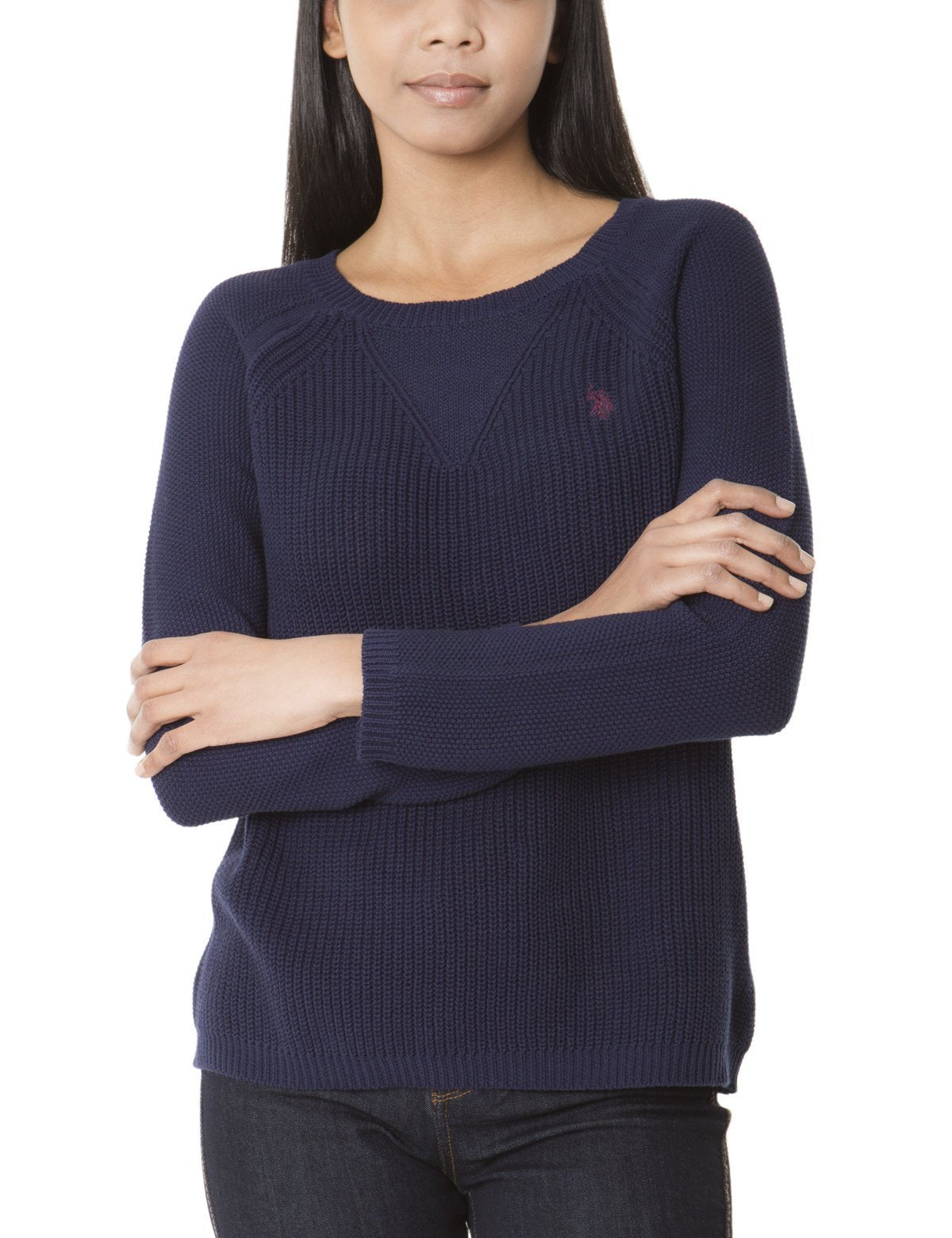SEAMED DETAIL SWEATER
