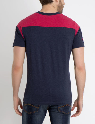 USPA COLORBLOCK T-SHIRT