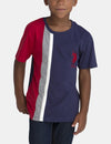 VERTICAL STRIPE T-SHIRT - U.S. Polo Assn.