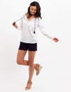 SCALLOPED HEM SHORTS - U.S. Polo Assn.
