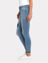 STRETCH DESTRUCTION JEGGING JEAN
