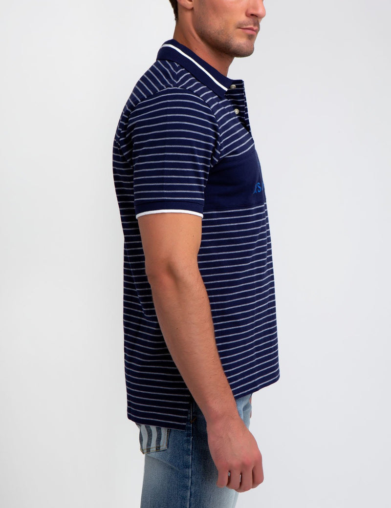 U.S. POLO ASSN. STRIPED POLO SHIRT