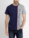 U.S. POLO ASSN. VERTICAL COLORBLOCK T-SHIRT - U.S. Polo Assn.