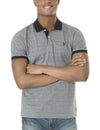 STRIPED JACQUARD POLO SHIRT - U.S. Polo Assn.