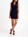 SLEEVELESS LACE UP DRESS - U.S. Polo Assn.