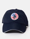Rubber Flag Patch Cap