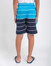 Boys Horizontal Stripe Board Short - U.S. Polo Assn.